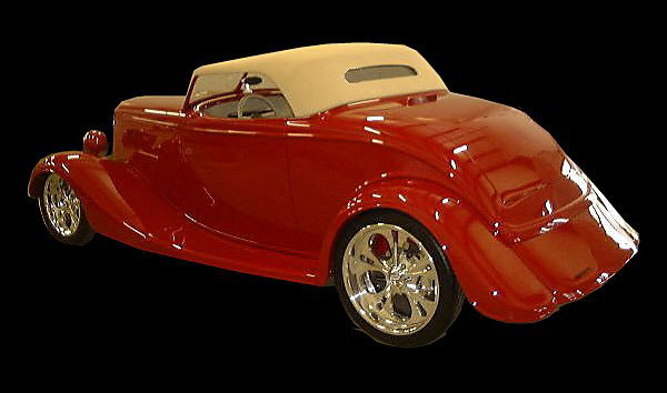 1933 FORD 2 DOOR ROADSTER - Side Profile - 22008