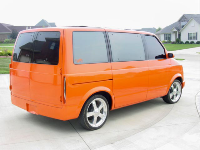1987 CHEVROLET VAN - Rear 3/4 - 22009