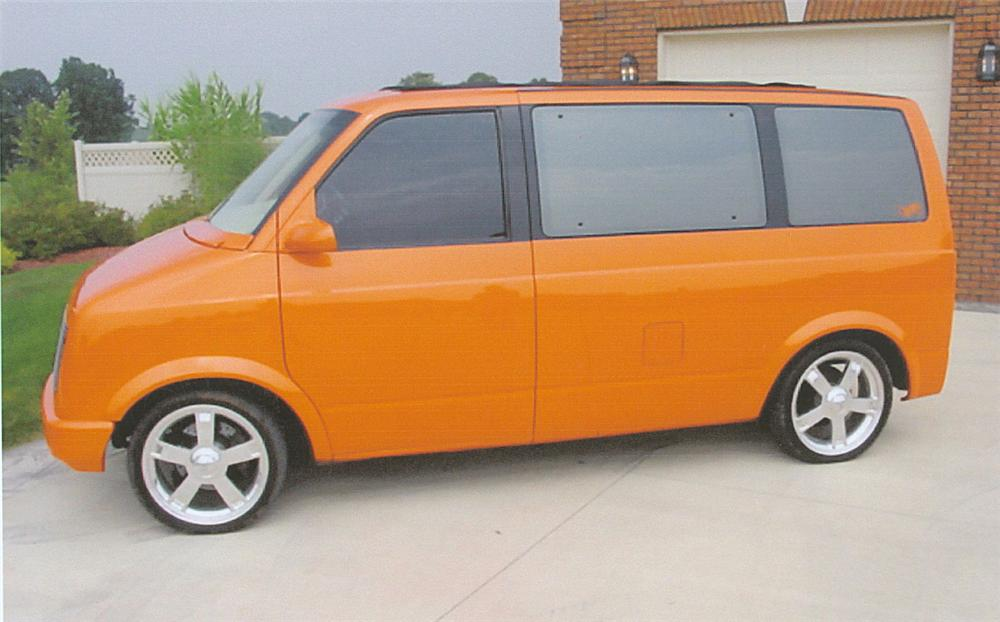 1987 CHEVROLET VAN - Side Profile - 22009