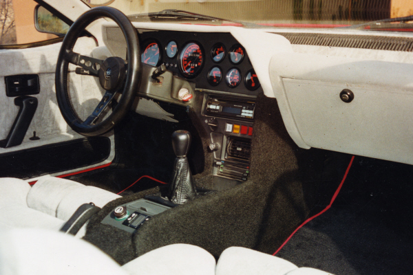 1985 RENAULT COUPE - Interior - 22012