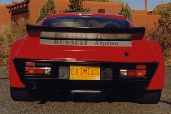 1985 RENAULT COUPE - Rear 3/4 - 22012