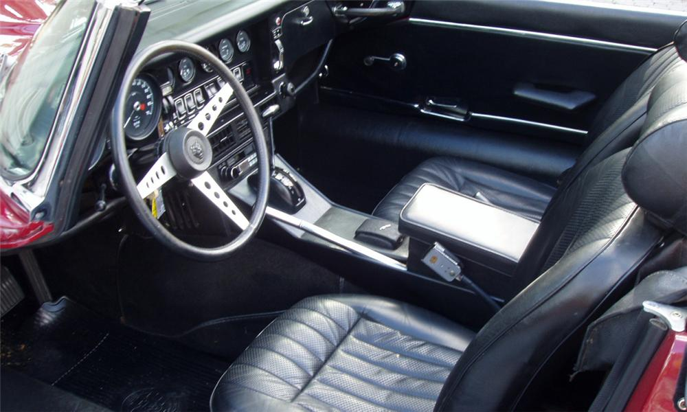 1974 JAGUAR XKE SERIES III ROADSTER - Interior - 22013