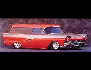"1957 FORD ""INTRUDER"" CUSTOM WAGON -  - 22023"