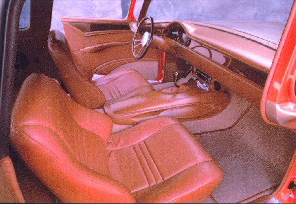 "1957 FORD ""INTRUDER"" CUSTOM WAGON - Interior - 22023"