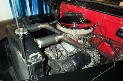 1946 FORD SUPER DELUXE CONVERTIBLE - Engine - 22089
