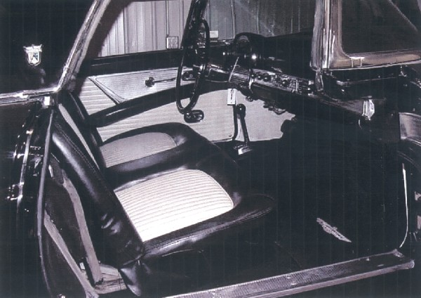 1955 FORD THUNDERBIRD CONVERTIBLE - Interior - 22150