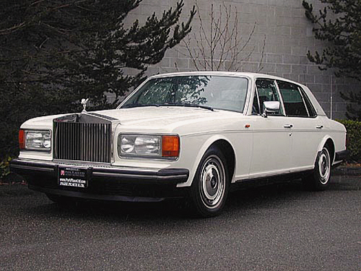 1990 ROLLS-ROYCE SILVER SPUR UNKNOWN - Front 3/4 - 22156