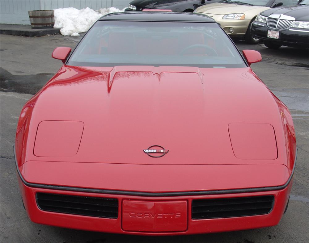 1986 CHEVROLET CORVETTE COUPE - Front 3/4 - 22163