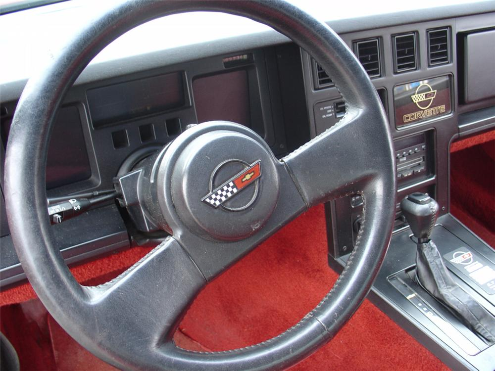 1986 CHEVROLET CORVETTE COUPE - Side Profile - 22163