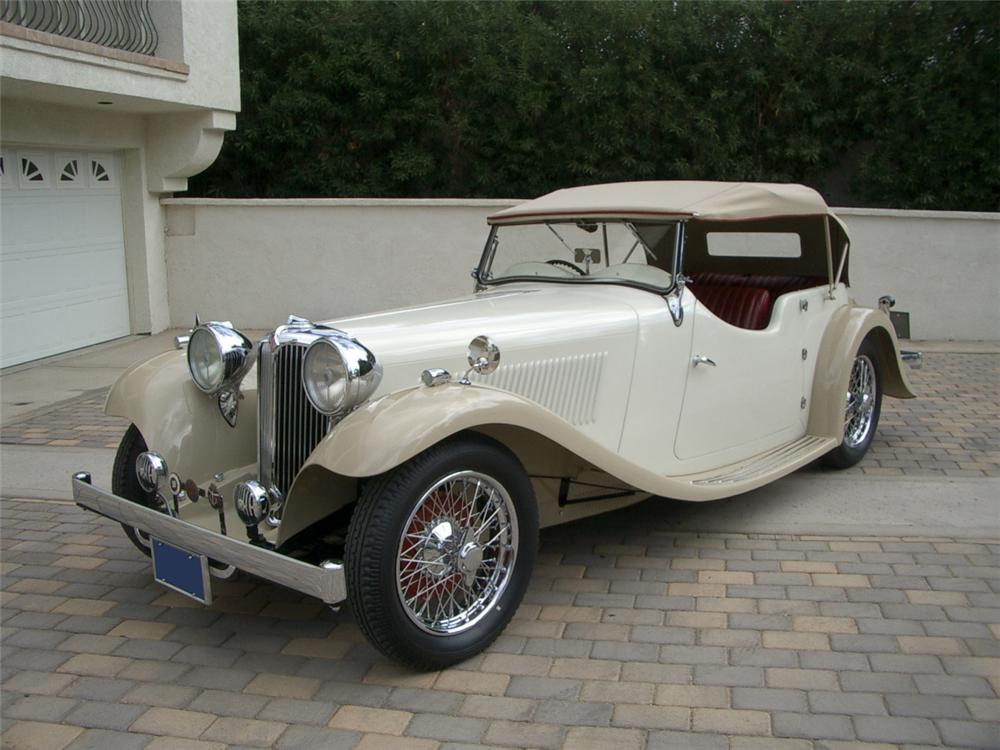 1935 SWALLOW SS-1 2 DOOR OPEN 4-PLACE TOURER - Front 3/4 - 22164