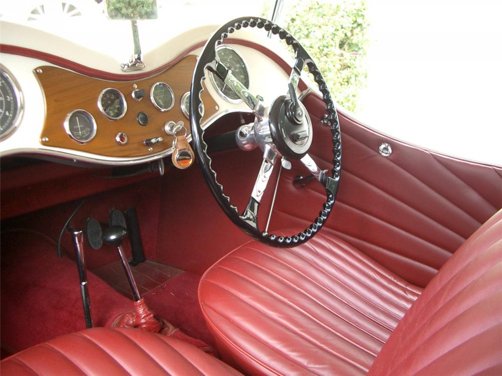 1935 SWALLOW SS-1 2 DOOR OPEN 4-PLACE TOURER - Interior - 22164