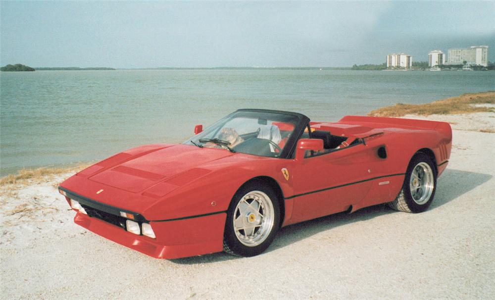 1977 FERRARI 308 CONVERTED TO 288 GTO SPYDER - Front 3/4 - 22167