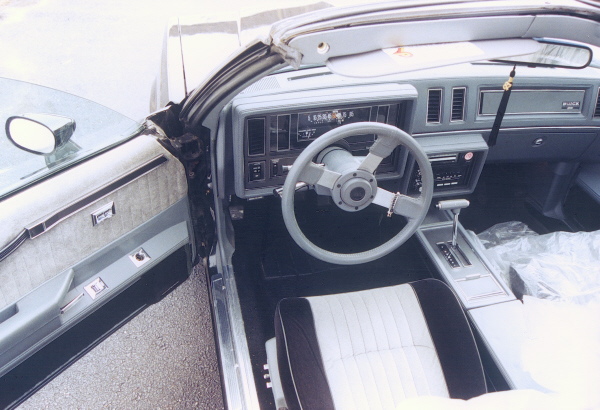 1986 Buick Regal Grand National 2 Door T Top 22172