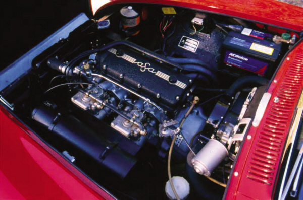 1967 ASA 1000 GT COUPE - Engine - 22179