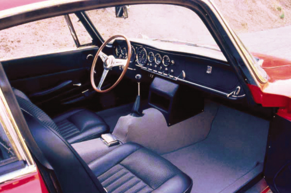 1967 ASA 1000 GT COUPE - Interior - 22179