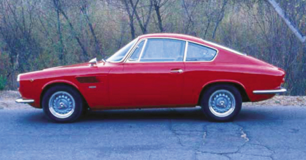 1967 ASA 1000 GT COUPE - Side Profile - 22179