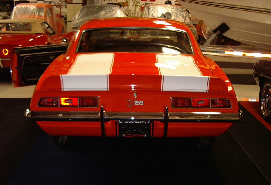 1969 CHEVROLET CAMARO Z/28 COUPE - Rear 3/4 - 22182