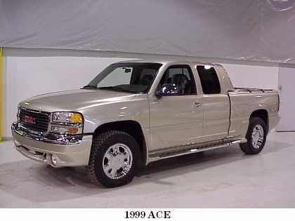 1999 GMC SIERRA ACE CONCEPT VEHICLE FROM - Front 3/4 - 22187
