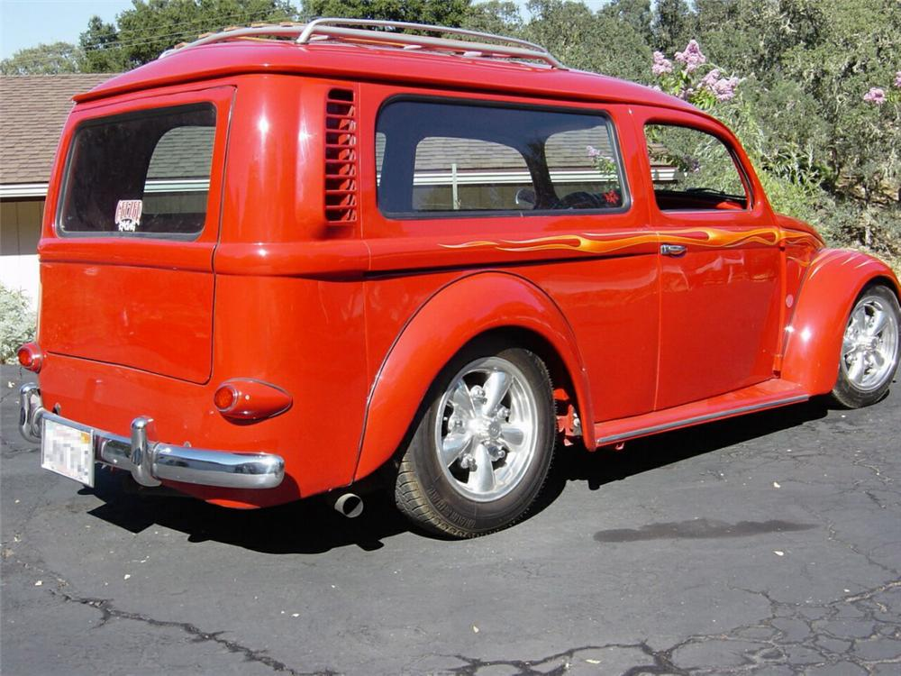 1959 VOLKSWAGEN CUSTOM BUG BUS - Rear 3/4 - 22192