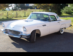 1957 FORD THUNDERBIRD E CONVERTIBLE -  - 22202