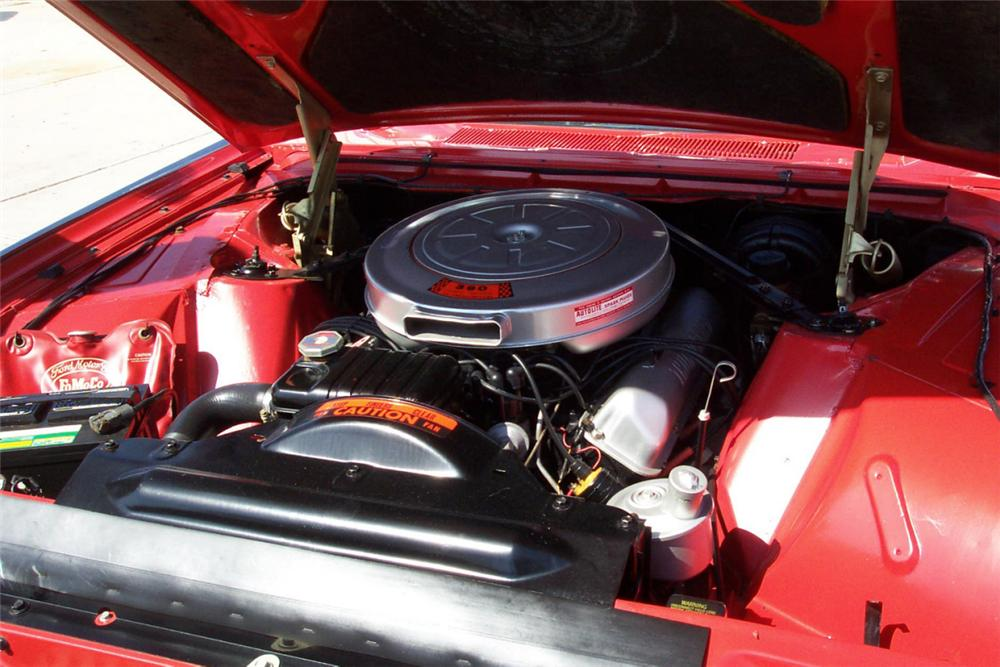 1962 FORD THUNDERBIRD ROADSTER - Engine - 22211