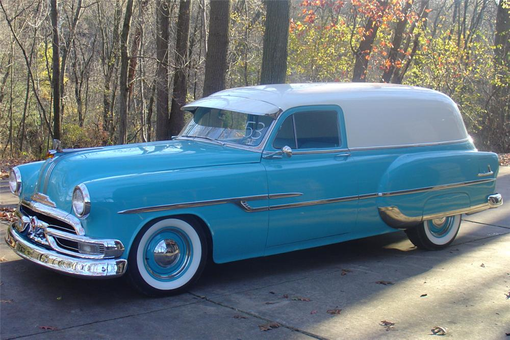 1953 PONTIAC SEDAN DELIVERY - Front 3/4 - 22220