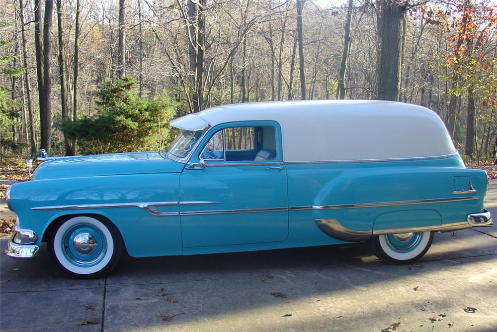 1953 PONTIAC SEDAN DELIVERY - Side Profile - 22220