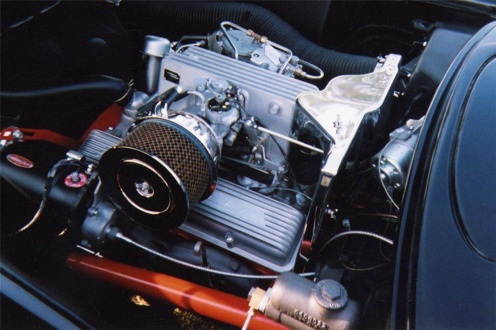 1957 CHEVROLET CORVETTE FI CONVERTIBLE - Engine - 22226