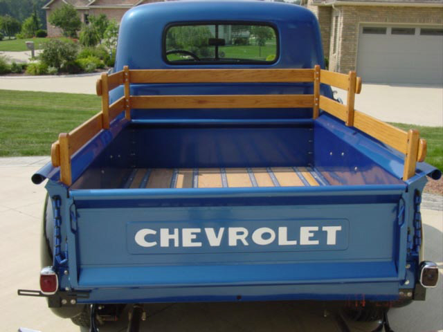 1951 CHEVROLET PICKUP - Rear 3/4 - 22230