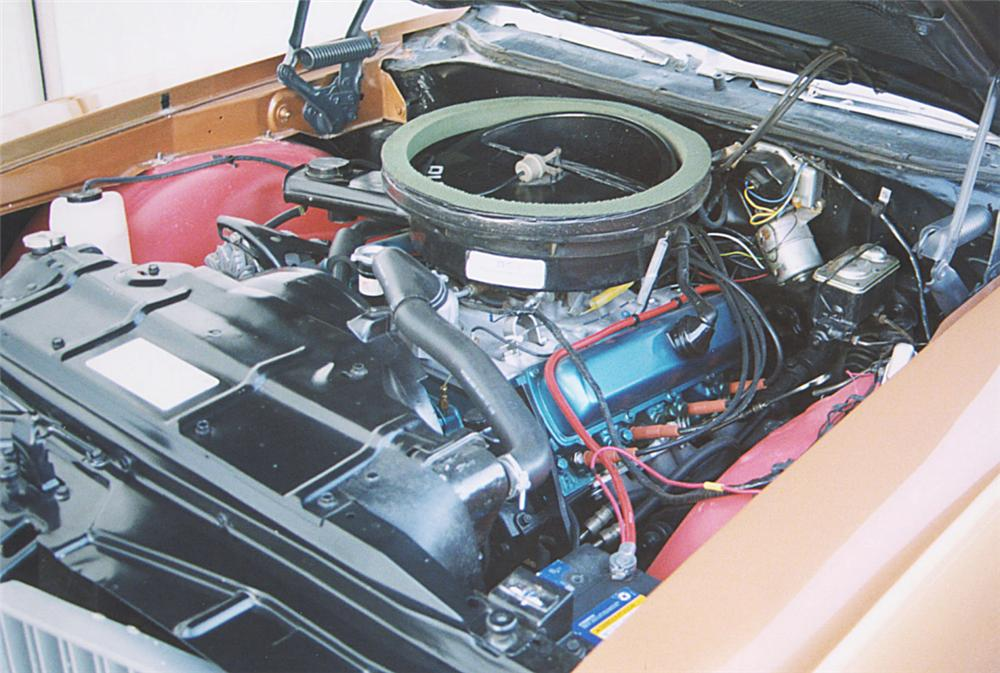 1970 OLDSMOBILE 442 W30 COUPE - Engine - 22237