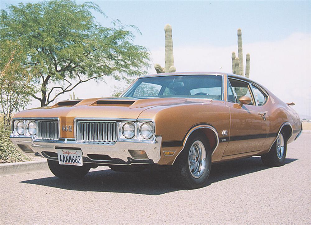 1970 OLDSMOBILE 442 W30 COUPE - Front 3/4 - 22237