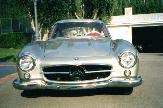 1955 MERCEDES-BENZ 300SL GULLWING - Side Profile - 22248