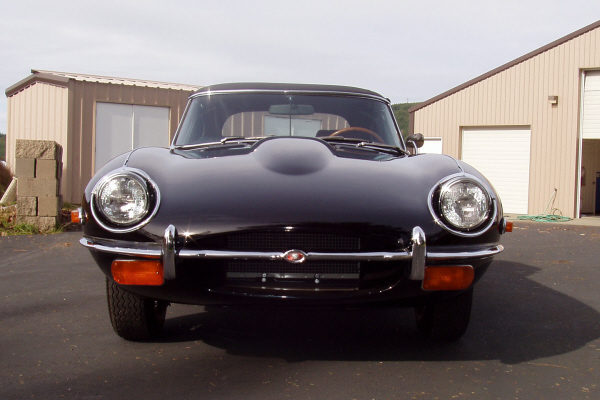 1970 JAGUAR XKE SERIES II ROADSTER - Side Profile - 22250