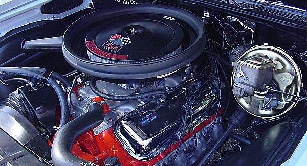1970 CHEVROLET CHEVELLE LS6 COUPE - Engine - 22252