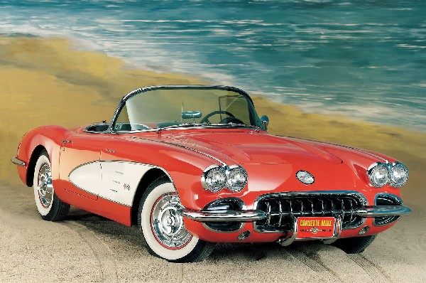 1958 CHEVROLET CORVETTE UNKNOWN - Front 3/4 - 22339