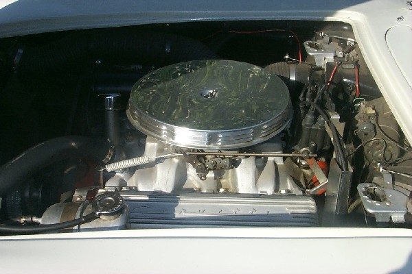 1962 CHEVROLET CORVETTE CONVERTIBLE 2-TOP - Engine - 22345