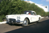 1962 CHEVROLET CORVETTE CONVERTIBLE 2-TOP -  - 22345