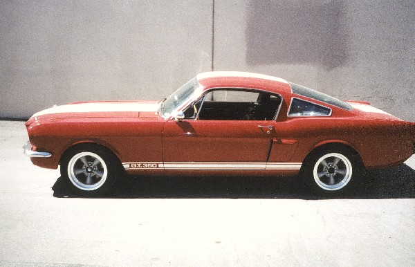 1966 SHELBY GT350 FASTBACK - Side Profile - 22361