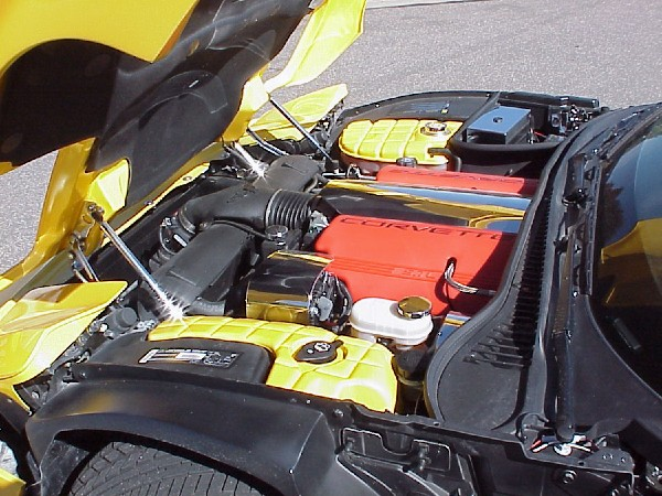 2002 CHEVROLET CORVETTE ZO6 CUSTOM COUPE - Engine - 22362