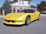 2002 CHEVROLET CORVETTE ZO6 CUSTOM COUPE -  - 22362