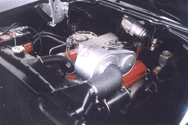 1957 CHEVROLET 210 283 FI COUPE - Engine - 22367