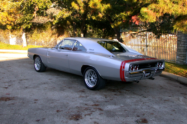 1968 DODGE CHARGER GTS - Rear 3/4 - 22388