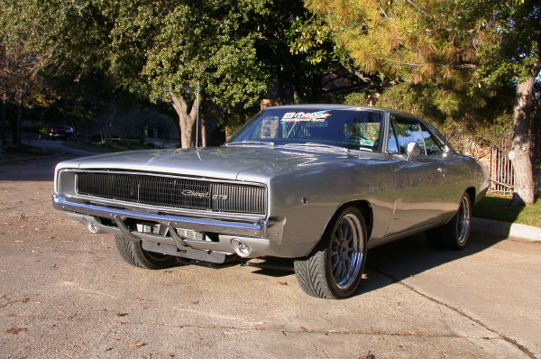 1968 DODGE CHARGER GTS - Side Profile - 22388