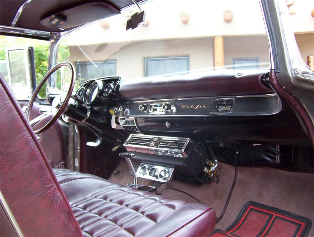 1957 CHEVROLET NOMAD WAGON - Interior - 22390
