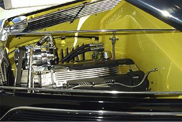 1937 FORD 5 WINDOW COUPE - Engine - 22393