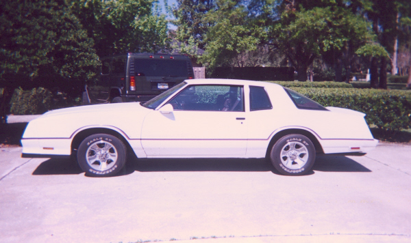 1986 CHEVROLET MONTE CARLO SS AERO COUPE - Side Profile - 22413