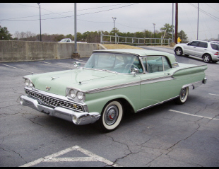 1959 FORD GALAXIE 500 SKYLINER RETRACTABLE -  - 22419