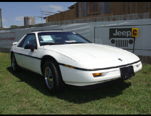 1988 PONTIAC FIERO 2 DOOR -  - 22423