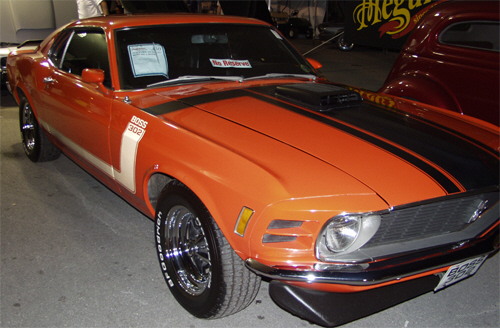 1970 FORD MUSTANG BOSS 302 2 DOOR - Front 3/4 - 22425