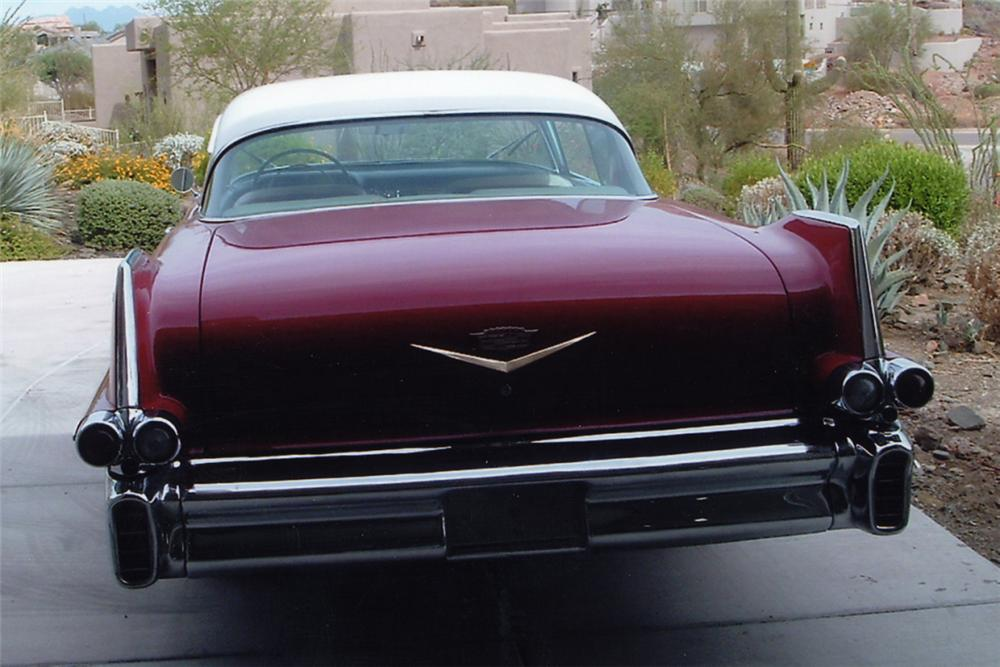 1957 CADILLAC SERIES 62 2 DOOR HARDTOP - Rear 3/4 - 22437